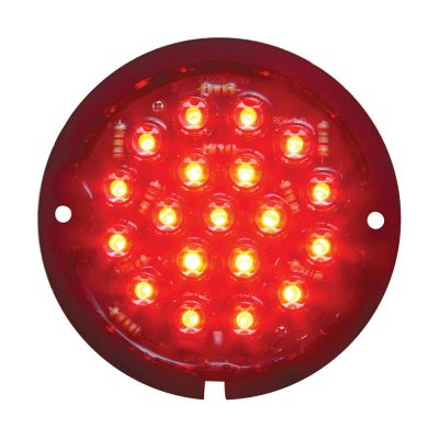 (BAG) 19 LED 1933-36 FORD TAIL LIGHT (RETROFIT)-RED LENS