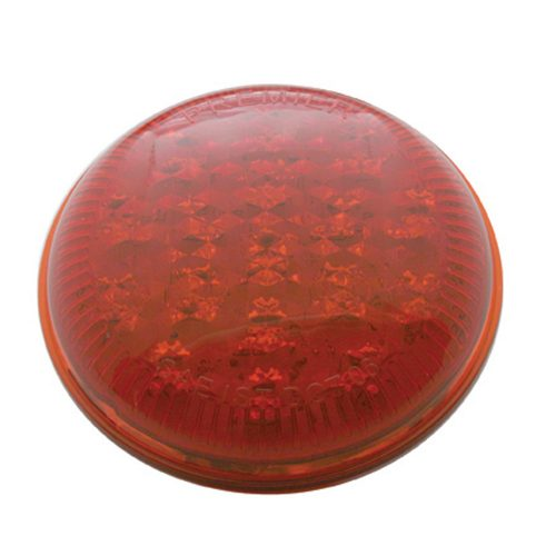 (CARD)17 RED LED 1937 FORD TAIL LIGHT - RED LENS