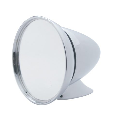 (BULK) LARGE DELUXE CHROME GT MIRROR - UNIVERSAL APPLICATION