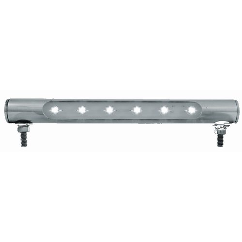 (CARD) 6 WHITE LED TUBE LICENSE PLATE LIGHT