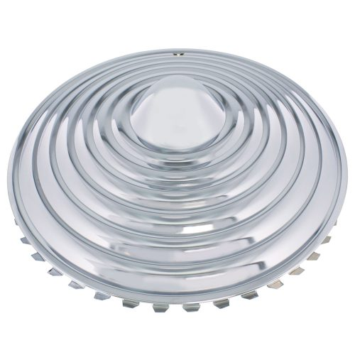 "14"" CHROME STARBURST WHEEL CAP SET (SET/4)"