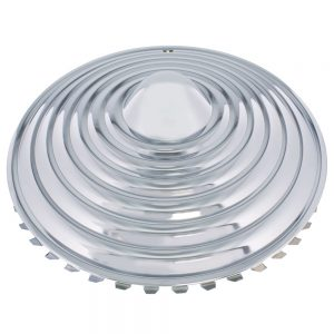 "15"" CHROME STARBURST WHEEL CAP SET (SET/4)"